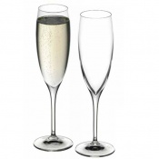 2.0 Set 6 Calici Flute Champagne 20 cl Crystal Glass