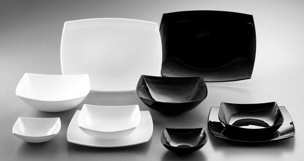 horecapoint com - Delice Black and White by Arcoroc