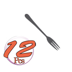 Pinti 12 Forchettine Dolce 3P Savoy