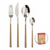 Pinti Set Posate 24 Pz Sushi King Teak In Scatola Regalo